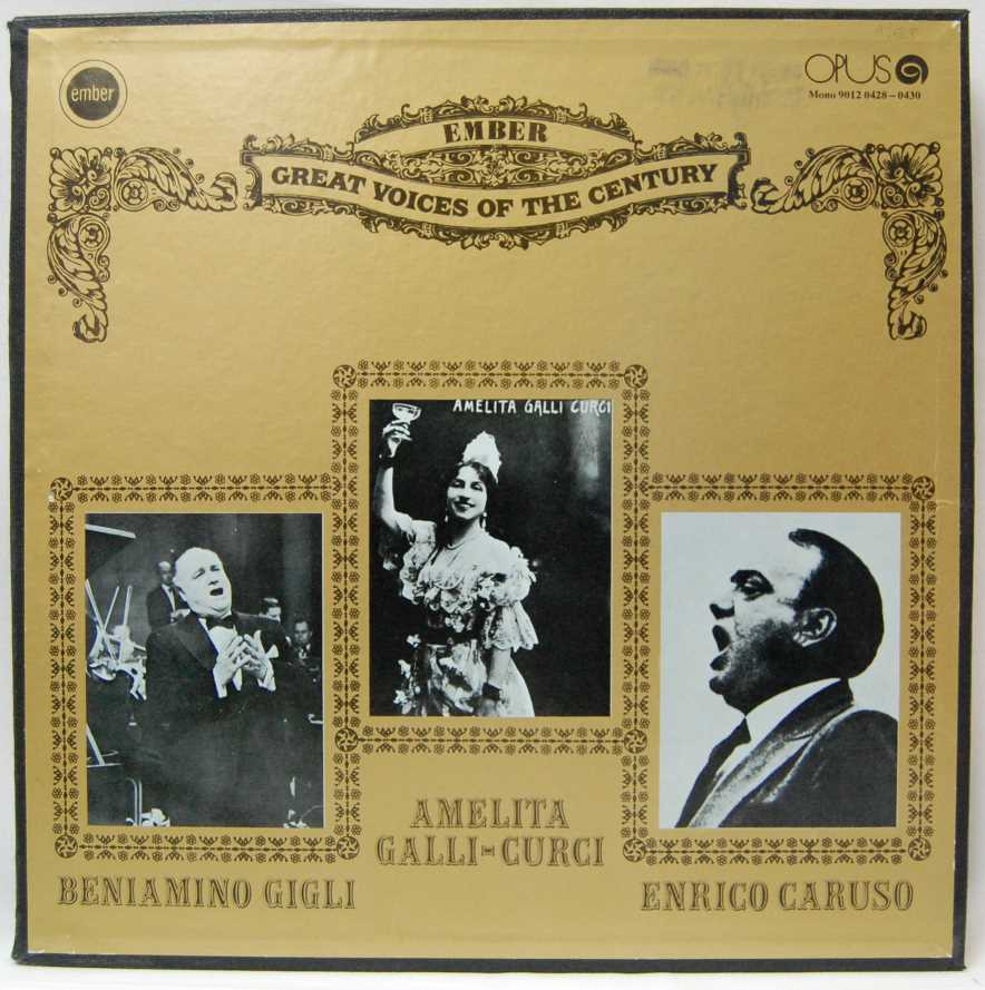 Great Voices Of The Century (3 LP)